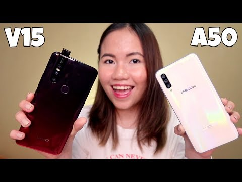 SAMSUNG GALAXY A50 & VIVO V15 COMPARISON VIDEO