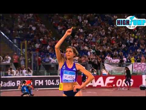 Women high jump Diamond league ROME 2015