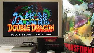 Double Dragon Advance (ダブルドラゴンアドバンス?) is a 2003 side-scrolling beat-em-up released for the Game Boy Advance. It was published by Atlus and developed by Million Inc., S-NEO, and Paon. It is a remake of the 1987 arcade game Double Dragon and incorporates elements from its sequels and home versions.
