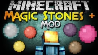 Minecraft Mod Showcase: Magic Stones + - Jeffrey Stone, Power Tools, and More!