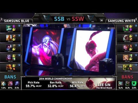 Lol - D1G1 Samsung White vs Samsung Blue LOL S4 Worlds G1 Semi finals | SSW vs SSB Semi-Final Game 1 White vs Blue | S4 Semi Final Samsung Blue vs Samsung White G1...