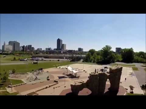 Columbus Drone Video