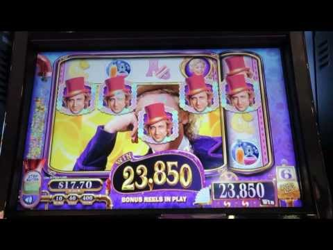 WMS – Willy Wonka!  Max Bet!  Big Win!