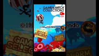Game & Watch Collection 2: Parachute [Game A] (Nintendo DS Emulated) by omargeddon