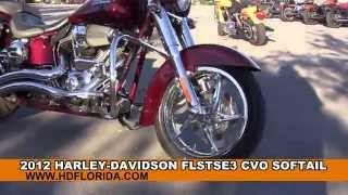 5. Used 2012 Harley Davidson CVO Softail Motorcycles for sale