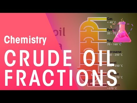 Crude Oil Fractions and their uses | The Chemistry Journey | The Fuse School