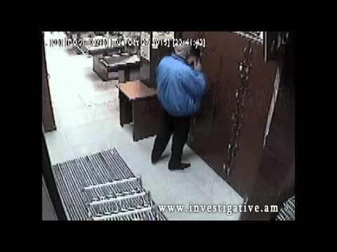Սուպերմարկետի պահախցից գողացվել է քաղաքացու կաշվե վերարկուն (Տեսանյութ)