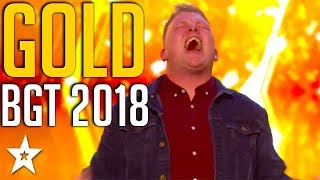 Video TOP 5 GOLDEN BUZZERS on Britain's Got Talent 2018 | Got Talent Global MP3, 3GP, MP4, WEBM, AVI, FLV Agustus 2019