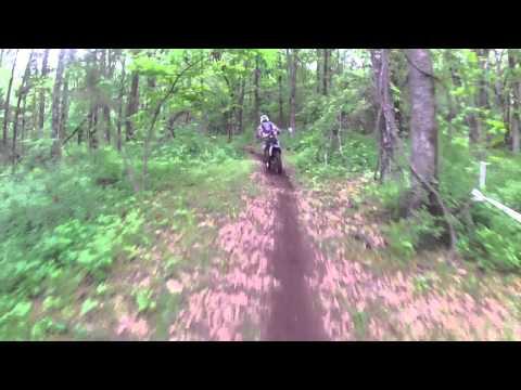 Logan's knarly crash Lockwood Race