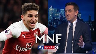 Gary Neville impressed by Lucas Torreira's HUGE impact on Arsenal | MNF