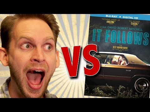 It Follows Blu-Ray Unboxing