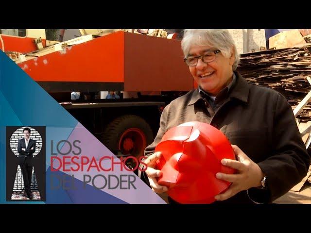 Los Despachos del Poder- Sebastian (escultor mexicano)