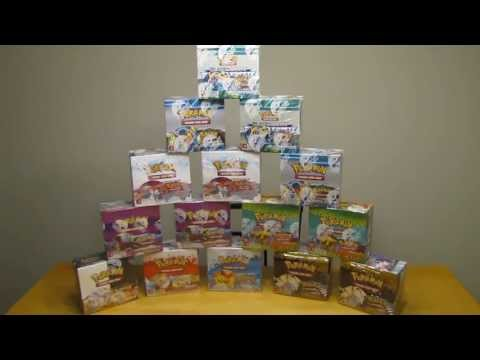 540 - 15 booster boxes which is 540 Pokemon booster packs or 5400 cards will be opened this summer. This is a preview video. The 15 Pokemon Booster boxes that I wi...