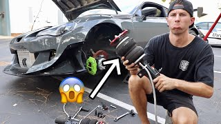 MY AIR STRUT EXPLODED... (while driving) by TJ Hunt