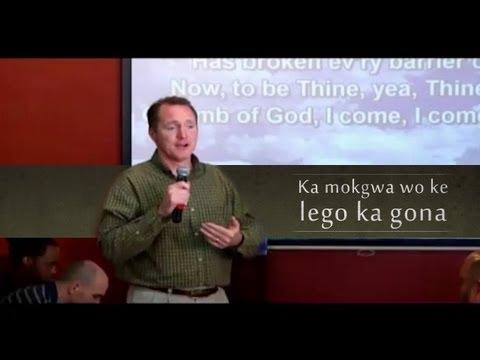 Ka mokgwa wo ke lego ka gona - Tim Conway (Sepedi - Northern Sotho)