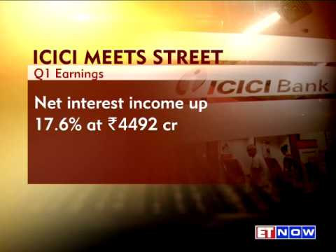 ICICI Bank Reported Rise In Profits In First Quarter Results