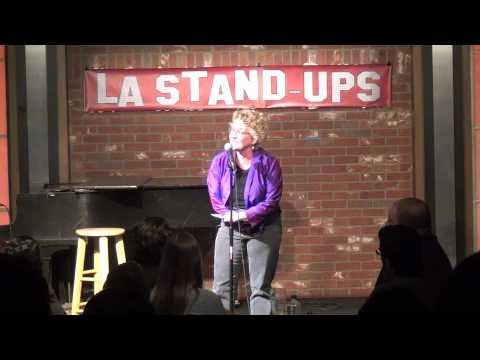 JudySilk Stands Up at The Improv