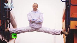 Белорусский каскадёр повторил знаменитый шпагат Ван Дама