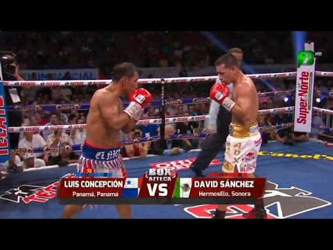 luis nica concepcion vs david tornado sanchez - highlights