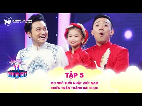Biệt tài tí hon | tập 5: MC nhỏ tuổi nhất Việt Nam khiến Trấn Thành cũng phải  bái phục - Thời lượng: 14:31.