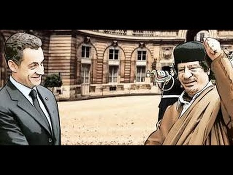 Kadhafi mort ou vif!  Sarkozy - Kadhafi