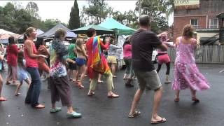 Bangalow Australia  city photos gallery : Happy Pharrell Williams Flash Mob Bangalow Australia