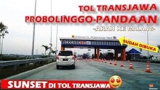 Download Video TOL PROBOLINGGO [Arah ke MALANG] Sunset di Tol Trans Jawa MP3 3GP MP4
