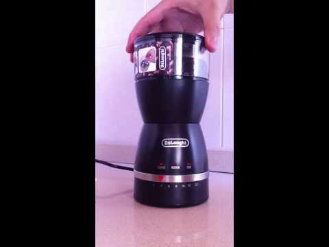 DeLonghi KG49 90g Electric Coffee Grinder Review part 1