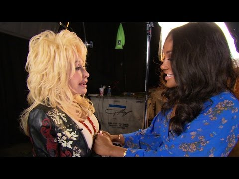 Dolly Parton surprises country music singer Mickey Guyton