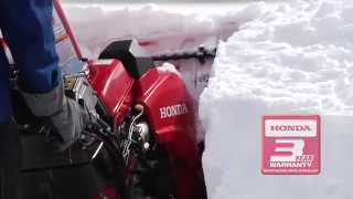 2. Honda HSS928AT and HSS928ATD Snow Blowers Overview