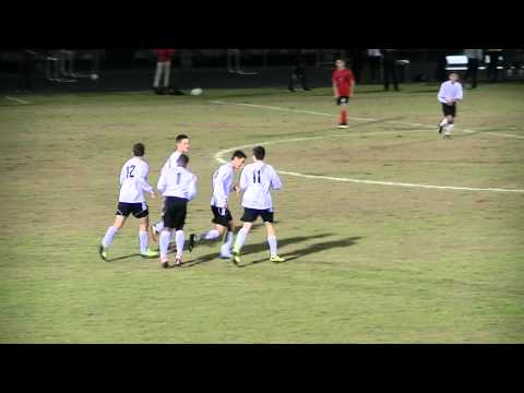 Brendan Duran goal Wiregrass Ranch HS vs Lakeland Kathleen Florida 4A regional semifinal