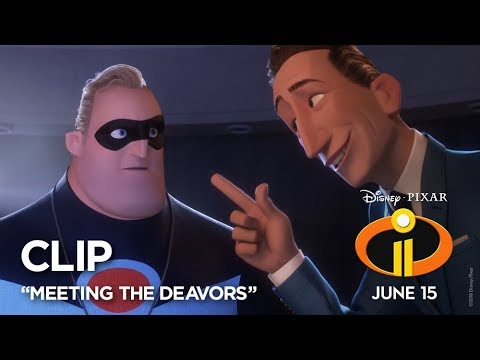 "Incredibles 2 Clip - ""Meeting The Deavors"" - Thời lượng: 61 giây."