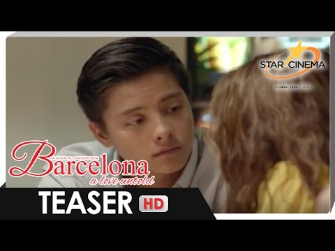 Teaser | Can he learn to love again? | 'Barcelona: A Love Untold'