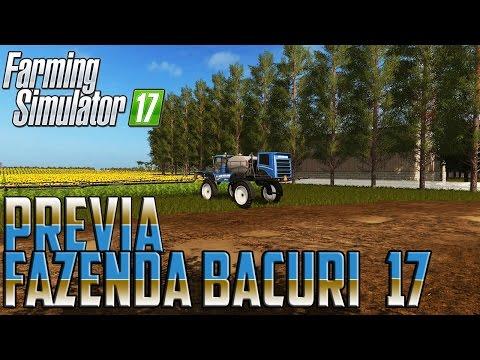 FAZENDA BACURI Farming simulator 17 v1.0