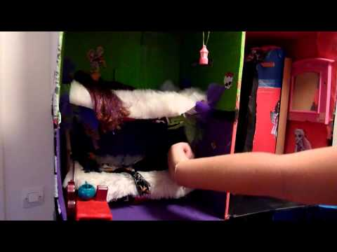 comment construire une maison monster high
