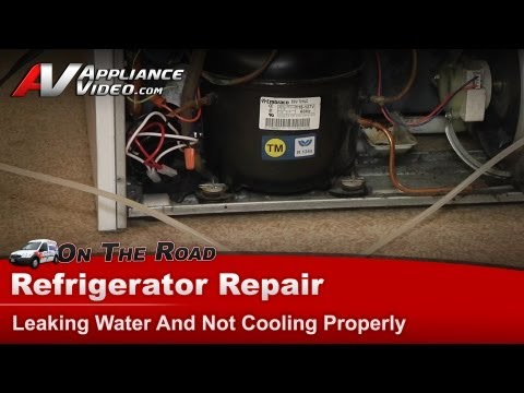 Maytag Refrigerator Repair – Leaking Water And Not Cooling Properly – MTF2156GEW