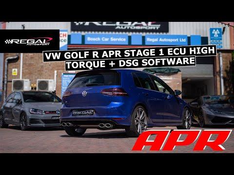 +102HP & +121lbfts | MK7 Golf R APR Stage 1 High Torque, DSG Software & DSG Service