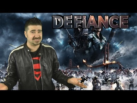 Review - For more Visit: http://angryjoeshow.com/2013/04/defiance-angry-review/