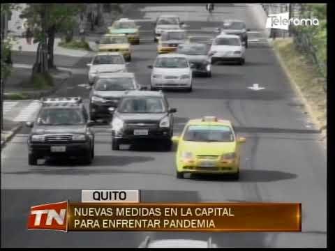 Nuevas medidas en la capital para enfrentar pandemia