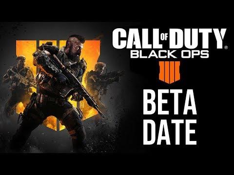 Black Ops 4 Beta Release Date (& BO4 Blackout)
