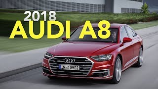 Audi is ushering in a new era of autonomy with the latest version of its A8 flagship sedan, promising an advanced suite that will steer the future of self-driving cars.The 2018 Audi A8 introduces the brand's new Audi AI functionality that allows the car to drive itself at speeds as fast as 37 mph (60 km/h), while also parking itself without driver intervention. The system makes the A8 the first production car to include the coveted Level 3 autonomy — one step below completely self-driving cars.Activated using a button, the Audi AI traffic jam pilot allows the car to take control of all aspects of the drive, including accelerating, braking, and steering, in slow-moving traffic. Audi says the system will only work on highways where a physical barrier separating opposite-moving lanes of traffic is present, and only at speeds as fast as 37 mph (60 km/h). When the system reaches its limits, it will alert the driver to take control of the vehicle. In the interim, however, the driver will be able to completely relinquish control of the steering wheel.Subscribehttp://www.youtube.com/subscription_center?add_user=AutoGuideVideoYouTube - http://www.youtube.com/user/AutoguideVideoFacebook - http://facebook.com/AutoGuideTwitter - http://twitter.com/AutoGuideGoogle+ - http://goo.gl/LBxsPWeb - http://www.AutoGuide.comAutoGuide reviews the latest new cars with test drives, car comparisons and shootouts plus coverage of breaking auto industry news, auto shows, rumors and spy photos. Help shop for your new car with informative car buying tips and car recall news, and be entertained with feature stories, Top 10s and car review videos.