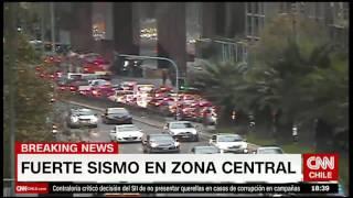 فيديو .. زلزال عنيف بقوة 7.1 درجة يضرب عاصمة الشيلي سانتياغو
