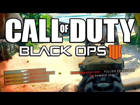 BLACK OPS 4 MULTIPLAYER!