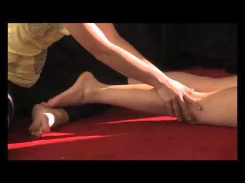 Como hacer masajes de piernas.