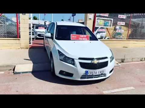 See video Chevrolet CRUZE 1.6i LT+