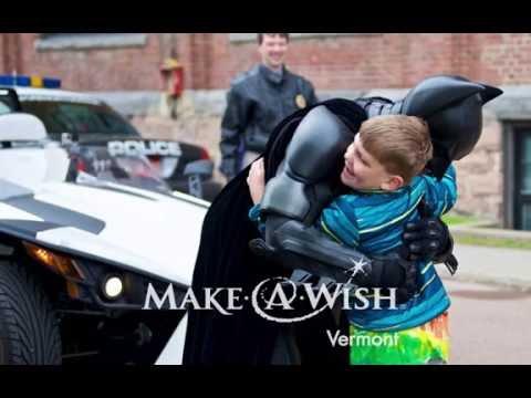 The Dark Knight Helps Make-A-Wish Vermont Grant a Wish