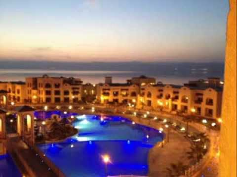 CROWNE PLAZA JORDAN DEAD SEA  RESORT & SPA (видео)