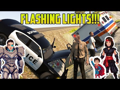 Cars for Kids | FLASHING LIGHTS! Police Cars, Fire Trucks, and Ambulances?!