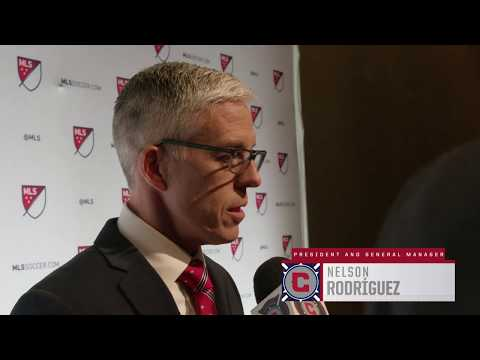 Video: Chicago Fire President and GM Nelson Rodríguez wraps up Day One of the 2019 MLS SuperDraft