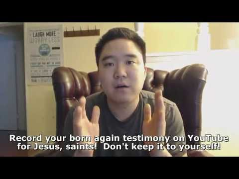 SHARE YOUR CHRISTIAN TESTIMONY!  GOD WANTS TO USE IT!